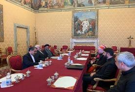 ظریف با مقامات عالی واتیکان دیدار و گفتگو کرد