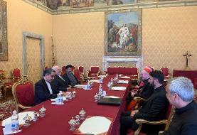 ظریف با نخستوزیر و وزیر خارجه واتیکان دیدار کرد