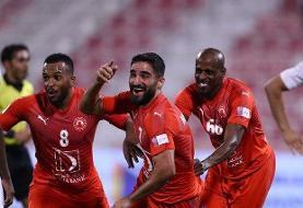 مهرداد محمدی بهترین گلزن آسیایی لیگ قطر شد