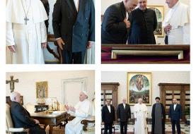 ظریف با پاپ دیدار کرد