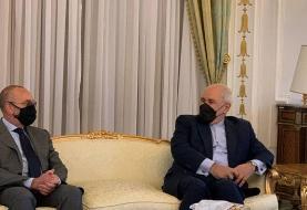 ظریف: در گفتوگو با مقامات ایتالیایی برای از سرگیری تجارت با ایران توافق شد