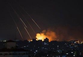 گروه های فلسطین دو پایگاه نظامی صهیونیستها را موشک باران کردند