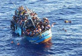 ۵۷ مهاجر تونسی در دریا غرق شدند