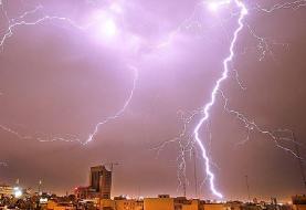 وزش باد و رعد برق طی ۲۴ گذشته ۲ فوتی و ۲ مصدوم در کشور به همراه داشت