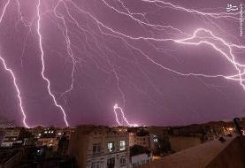 رگبار و رعدوبرق مهمان ۲۰ استان میشود