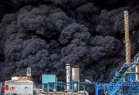 تشکیل پرونده قضایی برای حادثه آتشسوزی در کارخانه صنایع شیمی مولدان