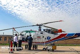 مصدومان حوادث جوی ۲۴ ساعت گذشته/ کمک از اورژانس هوایی