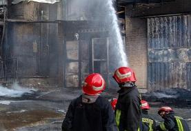 ورود دادستانی به حادثه آتشسوزی شهرک شکوهیه قم/ برآورد اولیه خسارات ۸۰ میلیارد تومان