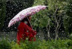 هواشناسی/ ادامه بارش باران در ۲۰ استان/ فردا ورود سامانه جدید از شمال غرب