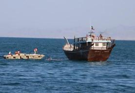 توقیف کشتی هندی با ۲ سرنشین کرونایی در جاسک