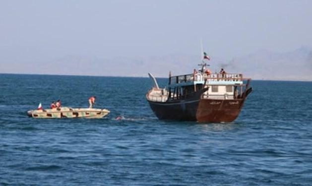 توقیف کشتی هندی با ۲ سرنشین کرونایی