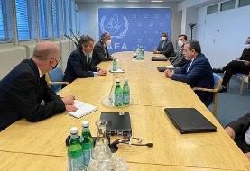 دیدار عراقچی با مدیرکل آژانس انرژی اتمی در وین
