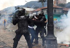 ادامه اعتراضها در کلمبیا/ پلیس به سوء استفاده جنسی متهم شد