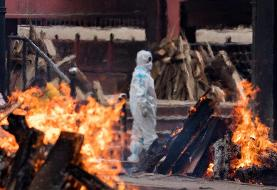 بحران در هند بخاطر کمبود چوب برای سوزاندن اجساد