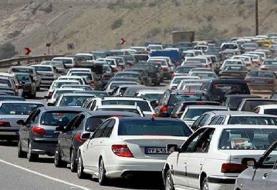 تردد سنگین در هراز و فیروزکوه