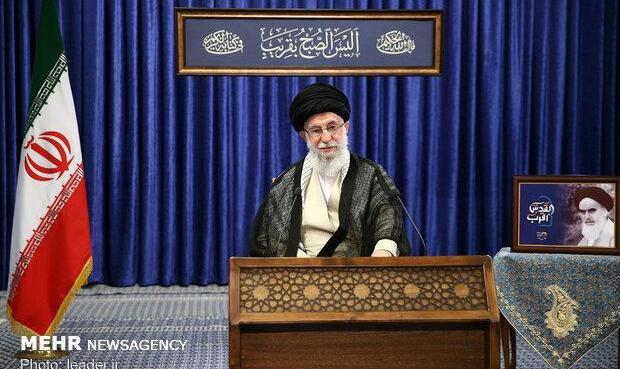 آیت الله خامنه ای: من قاطعانه میگویم؛ حرکت رو به زوالِ رژیم صهیونیستی آغاز شده