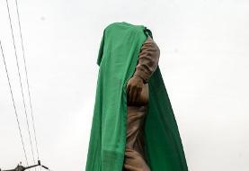 تصاویر   رونمایی از تندیس سردار شهید سلیمانی در تهران