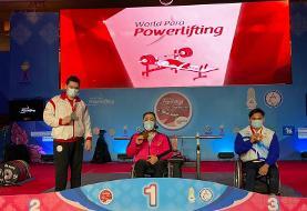 روحالله رستمی رکورد  پاراوزنه برداری دنیا را شکست و دومین طلایی ایران شد