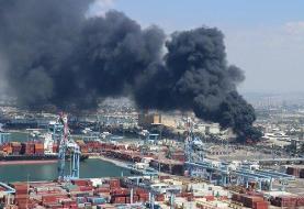 هاآرتص: آتش سوزی، حرکت قطارها در شمال اسراییل را متوقف کرد