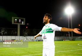محمدزاده: خدا را شکر سهم کوچکی در پیروزی برابر استقلال داشتم