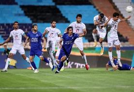استقلال ۰ - ذوبآهن ۲ / آبی پوشان با شکست به لیگ برگشت
