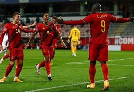 پاداش قهرمانی احتمالی بلژیک در یورو ۲۰۲۰ مشخص شد