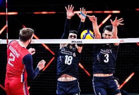 لیگ ملتهای والیبال/ ایران ۲ - ۱ صربستان
