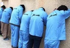 دستگیری ۶ نفر از عوامل نزاع و درگیری در رودبار