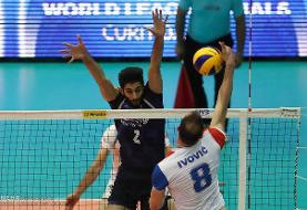 ایران - صربستان؛برد صربها در ست چهارم/ کار دو تیم به ست پنجم کشید