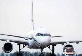فرود اضطراری هواپیمای کاسپین/ تکذیب انفجار موتور هواپیما