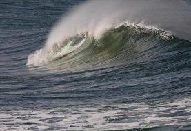 هشدار نارنجی هواشناسی نسبت به افزایش ارتفاع موج در خلیج فارس