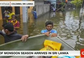 ۱۷ کشته براثر سیل و رانش زمین در سریلانکا