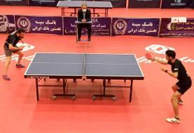 «رعد پدافند» اولین فینالیست لیگ برتر تنیس روی میز