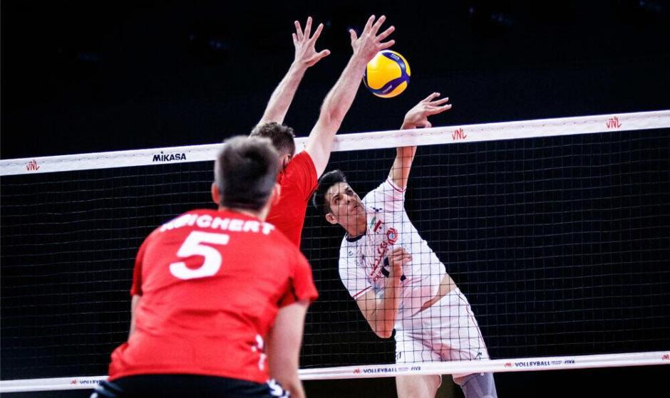 شکست غیرمنتظره میلیمتری ایران از آلمان در آخرین بازی هفته سوم رقابت های لیگ ملت ها