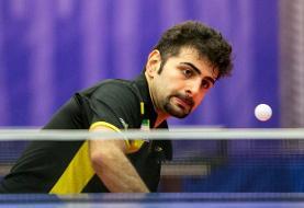 رقابت فراسنج و رعد پدافند در فینال لیگ برتر تنیس روی میز