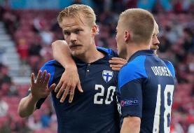 برد ارزشمند فنلاند مقابل دانمارک بی روحیه