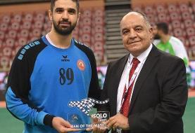 اولین برد العربی قطر در جام هندبال باشگاههای آسیا/برخورداری بهترین بازیکن زمین شد