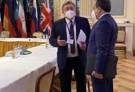 گفت وگوی عراقچی با روسای هیاتهای مذاکره کننده روسیه و چین در مذاکرات وین