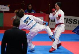 ناکامی بانوی کاراته کای ایران در پاریس/ رزیتا علیپور به سهمیه المپیک نرسید