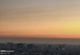 آلایندگی اُزُن وضعیت هوای تهران را نارنجی کرد