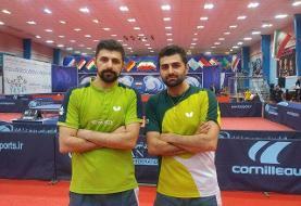 قهرمانی تیم برادران عالمیان در لیگ برتر تنیس روی میز
