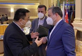گفتگوی عراقچی با همتایان روسی و چینی در وین/عکس