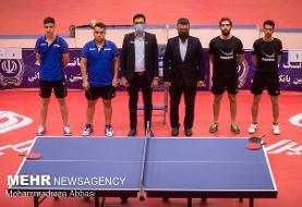 فینال بیست و نهمین دوره لیگ برتر تنیس روی میز باشگاه های کشور