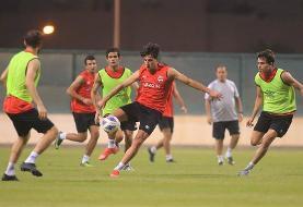 تصاویری از تمرین تیم ملی عراق پیش از بازی با ایران