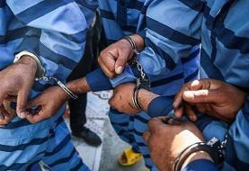 ۲۱ سارق سابقه دار در فردیس دستگیر شدند