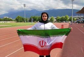 دختر تاریخساز دوومیدانی: کنار خیابان تمرین میکنم
