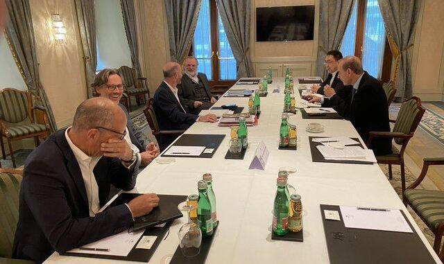 دیدار روسای هیئتهای مذاکره کننده در وین بدون حضور ایران