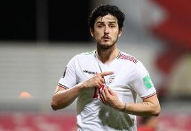 تبریک قالیباف برای پیروزی تیم فوتبال ایران در مقابل عراق