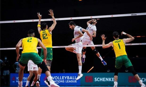 شکست ناباورانه والیبال ایران برابر استرالیا