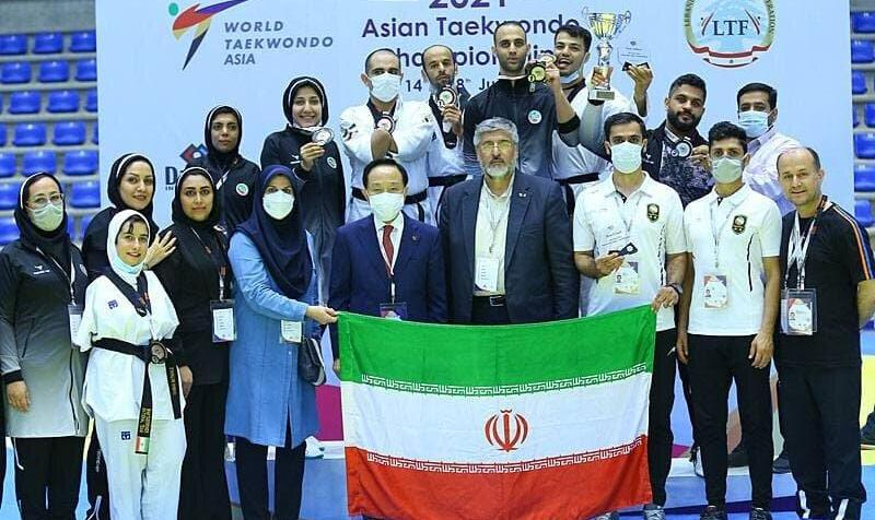 تیم ملی ایران قهرمان شد/ خانلرخانی بهترین مربی قاره کهن